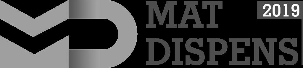 MatDIspens 2019 BW logo